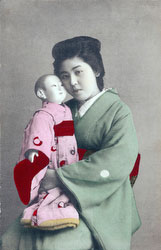 70612-0009 - Woman with Doll
