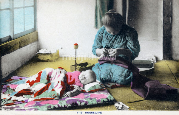 70821-0008 - Mother Sewing
