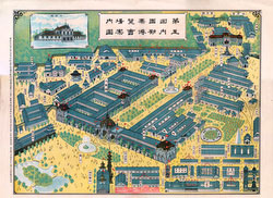 71010-0001 - Map of 5th Domestic Industrial Exhibition