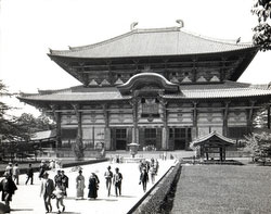 80121-0018 - Todaiji Great Buddha Hall