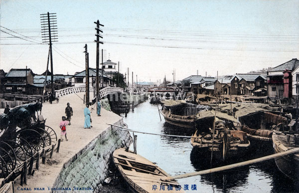 80201-0027 - Boats on Ookagawa River