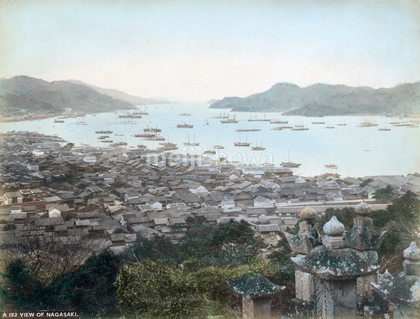 80901-0016 - View on Nagasaki