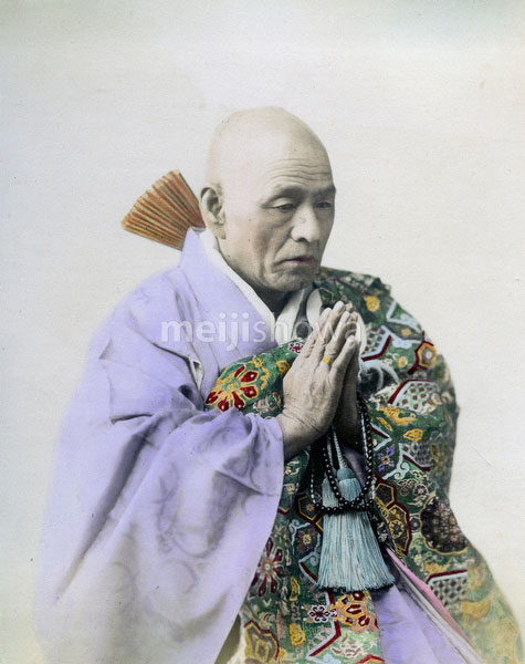 80302-0042-PP - Buddhist Priest