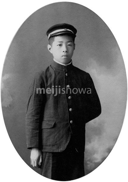 70203-0010 - Boy in School Uniform