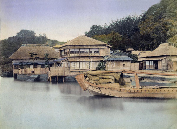 80303-0096-PP - Boat and Teahouse