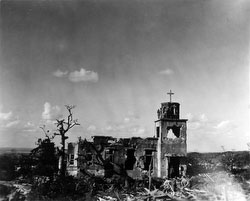 160304-0031 - WWII Ruins of Okinawa Church
