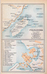 70305-0009 - Map of Itsukushima
