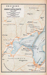 70305-0013 - Map of Amano Hashidate 1914
