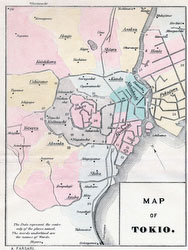 70405-0003 - Map of Tokyo 1890