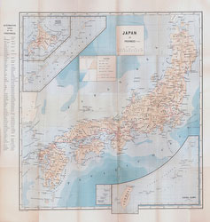 70411-0001 - Map of Japan 1903