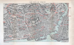 70411-0008 - Map of Tokyo 1903