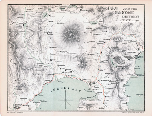 70411-0011 - Map of Mount Fuji 1903