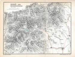 70411-0014 - Map of Nikko 1903