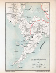 70411-0022 - Map of Nagasaki