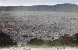 70419-0008 - View on Nagasaki