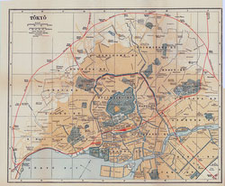 70424-0003 - Map of Tokyo 1920