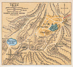 70424-0006 - Map of Ikaho 1920