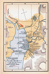 70424-0024 - Map of Nagasaki 1920
