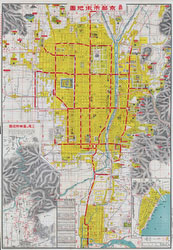 70509-0006 - Map of Kyoto 1928