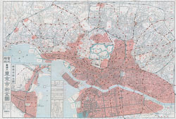 70514-0002 - Map of Tokyo 1923
