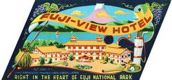 70522-0002 - Fuji-View Hotel Label