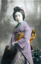 70612-0011 - Woman with Parasol