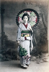 70614-0014 - Woman with Parasol