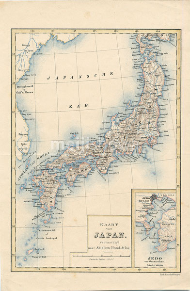 70122-0004 - Map of Japan 1860
