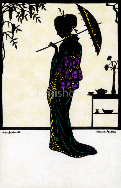 70809-0014 - Silhouette of Woman