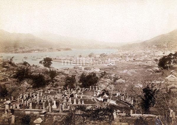 71006-0012 - View on Nagasaki
