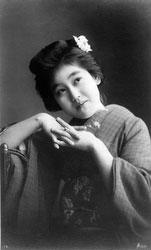71129-0005 - Woman in Kimono