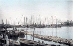 71204-0005 - Boats in Sumida River