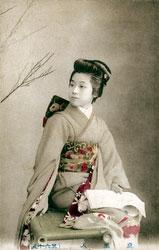 80107-0023 - Woman in Kimono