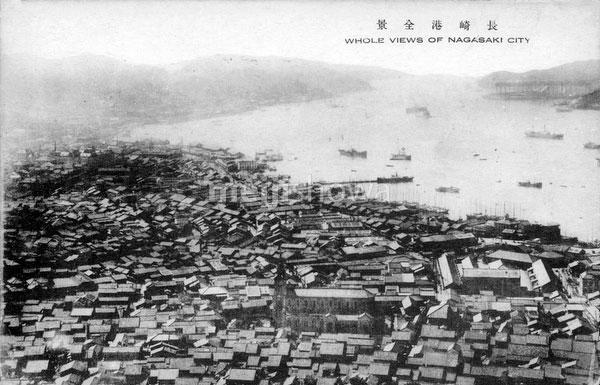 80107-0026 - View on Nagasaki