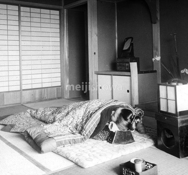 80107-0064 - Woman Sleeping