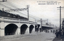 80110-0028 - Elevated Railway Tracks
