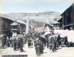 80115-0022 - Ikuta Jinja Matsuri