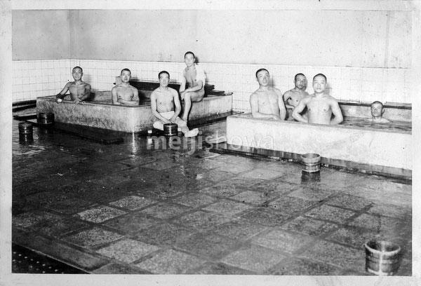 80124-0001 - Bathing Soldiers