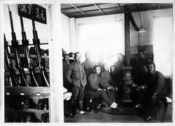 80124-0010 - Soldiers Relaxing