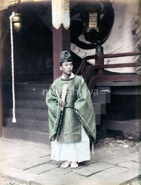 80129-0007 - Shinto Priest