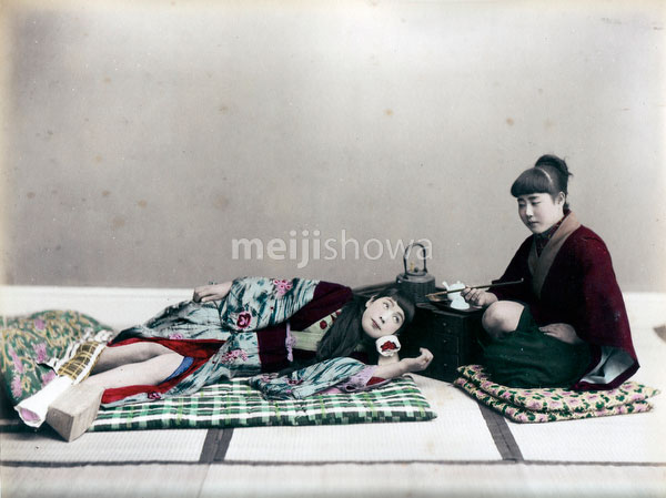 80129-0028 - Woman Sleeping