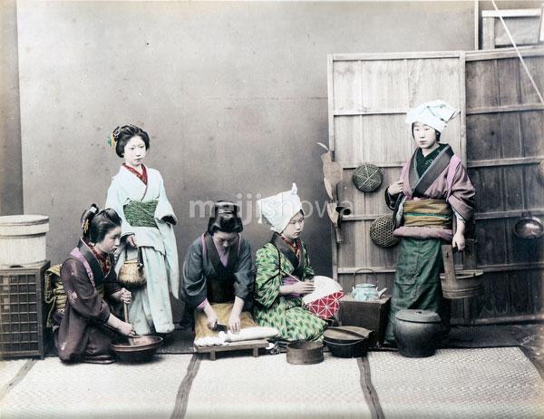 80129-0049 - Women Cooking