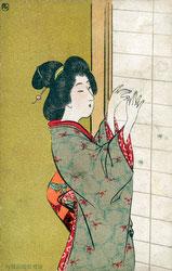 80219-0018 - Kokkei Shimbun Postcard