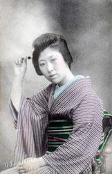 70130-0003 - Woman in Kimono