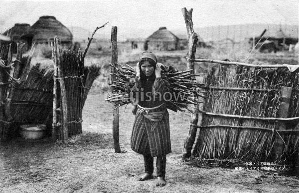 80201-0051 - Ainu Woman