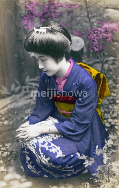 101004-0056 - Woman in Kimono