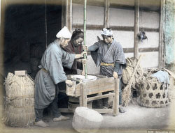 80901-0004 - Grinding Rice