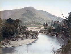 80901-0022 - Fujigawa River and Bridge