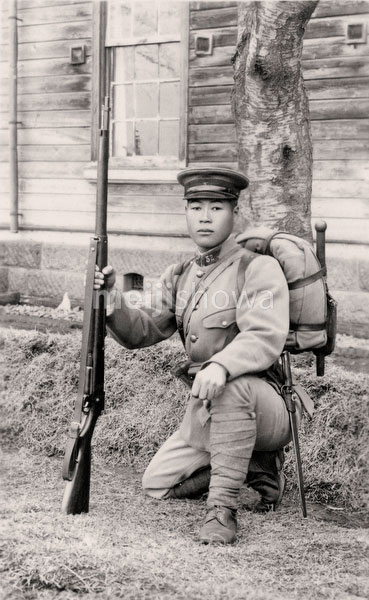 70201-0001 - Japanese Soldier