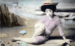 101007-0038 - Woman in Bathing Suit